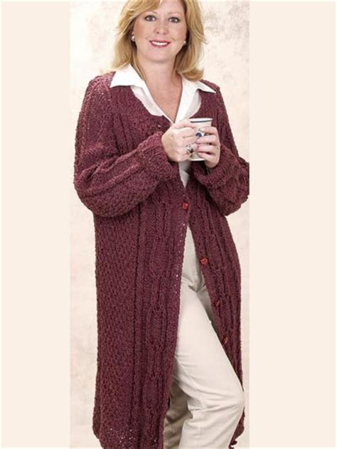 coat knitting pattern free cardigan knitting patterns moss knitted coat
