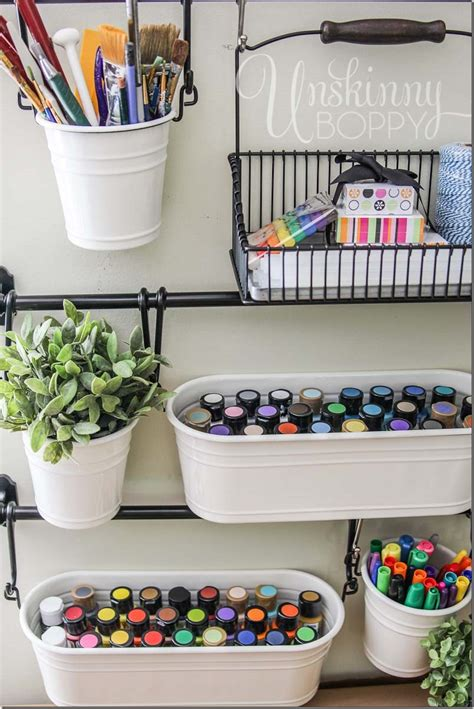 organizing crafts craft room organization and storage ideas the idea room