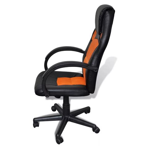 Chair Professional by Executive Chair Professional Office Chair Orange Vidaxl