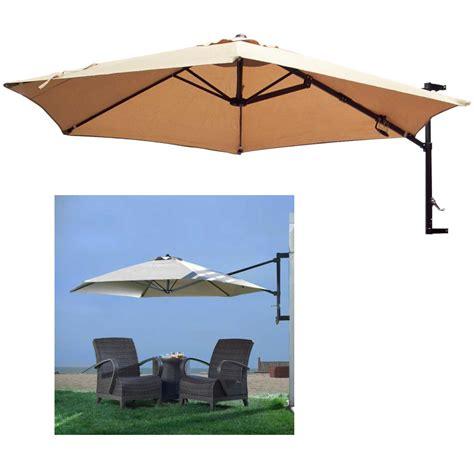 the wall patio umbrella 10 patio umbrella wall mount offset garden outdoor sun