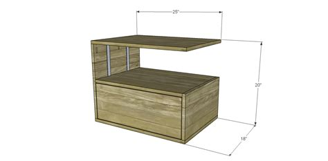 free end table woodworking plans free diy woodworking plans to build a leroy end table