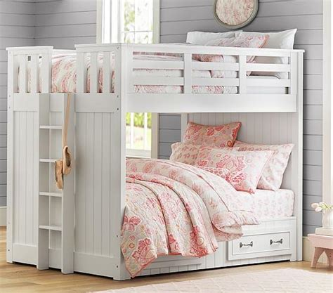 pottery barn bunk beds belden bunk pottery barn