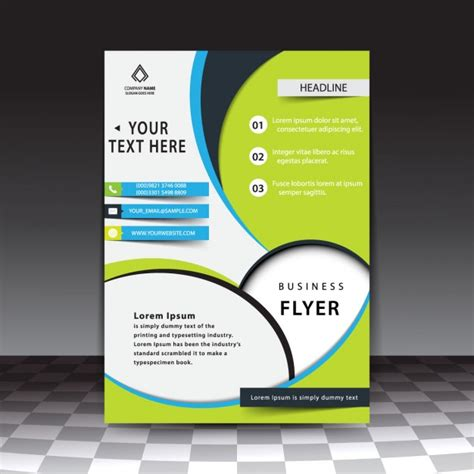 flyer template free modern stylish business flyer template free vectors ui