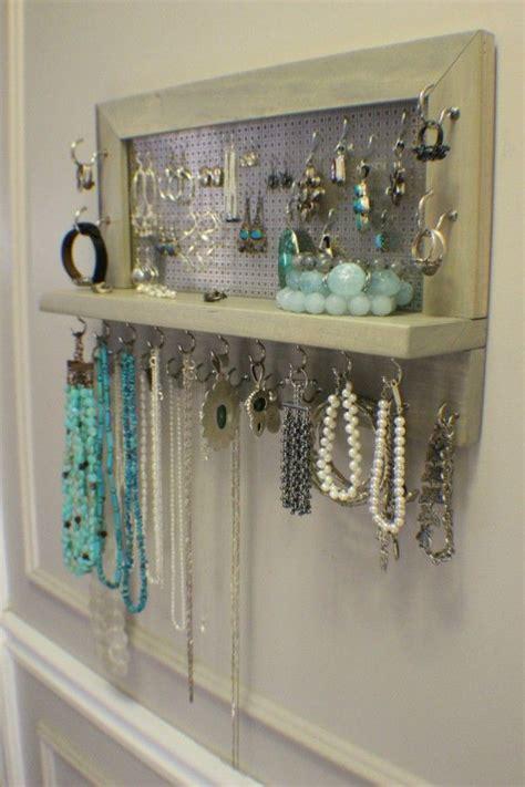 jewelry storage best 25 diy jewelry organizer ideas on diy