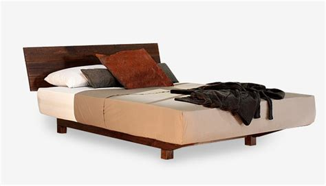 european bed frame european floating timber bed frame