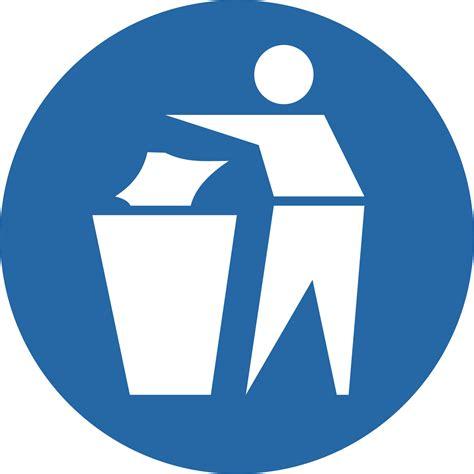 preproom org mandatory signs please use the bins provided