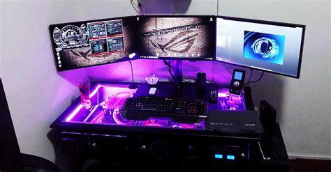 computer desk with built in computer vanaen one computer desk computer built in