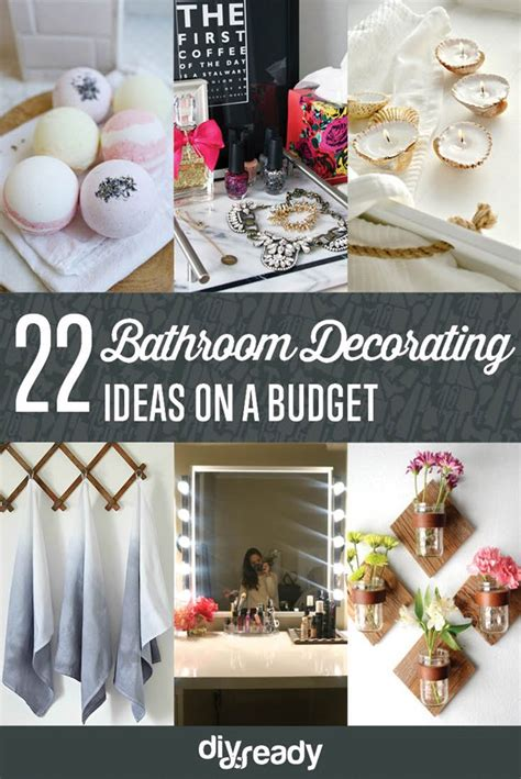 Decorating Ideas For Bathrooms On A Budget diy bathroom decorating ideas shamco property management
