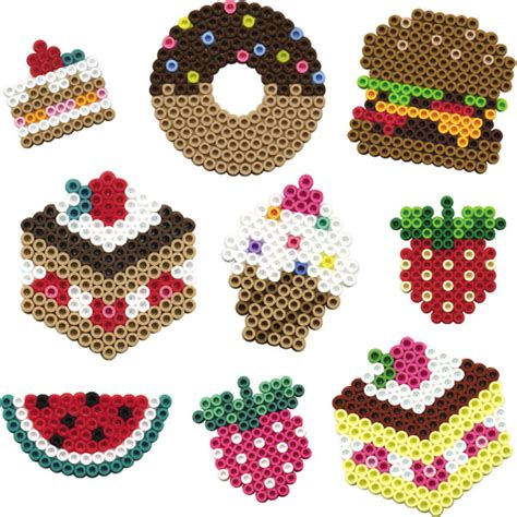 hama food pin cake hama perler by snowwwflake food cake on