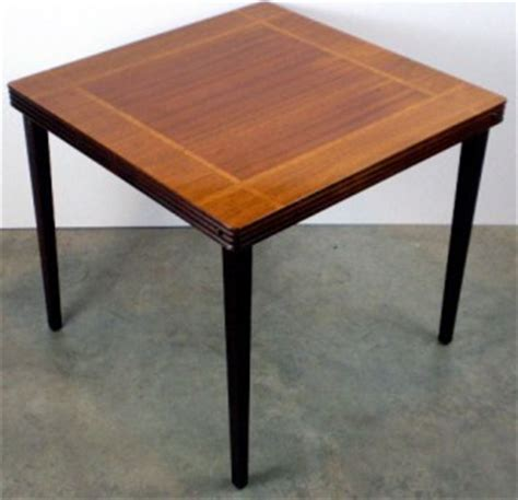 how to make a card table vintage castlewood inlaid mahogany oak wood card table