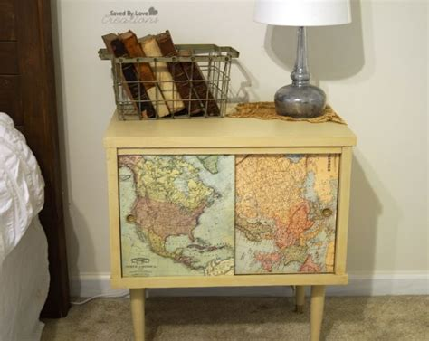 decoupage maps on furniture 17 best ideas about decoupage table on