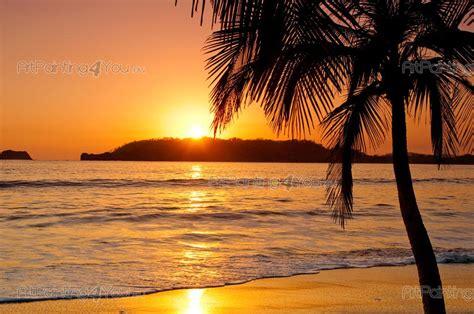 strands of zonsondergang strand fotobehang posters mcpo1009nl