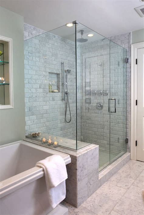 Ceramic Tile On Basement Floor by 27 Walk In Shower Tile Ideas That Will Inspire You Home