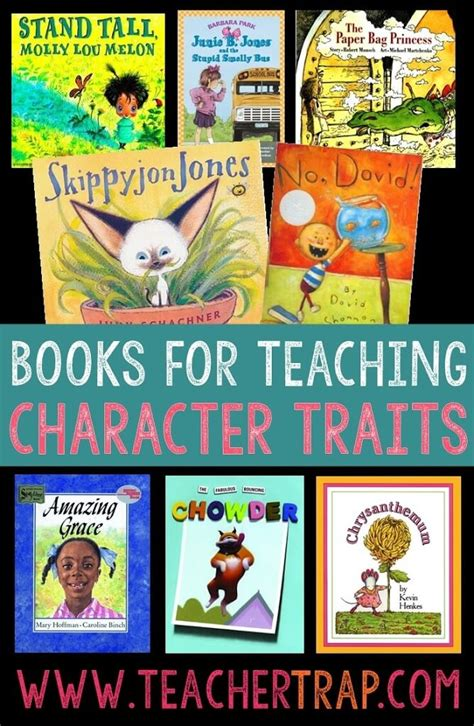 picture books for teachers understanding characters trap