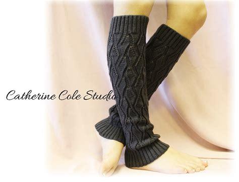 knit leg warmers for boots charcoal basic open crochet knit leg warmers womens knit