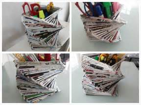 recycled newspaper crafts for inspiring ideas for recycled diy crafts best ideas for