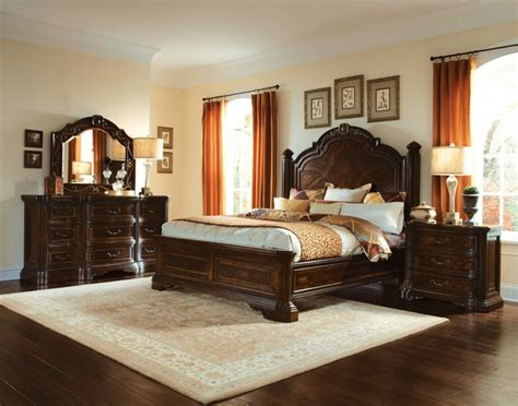 carved bedroom furniture valencia carved wood traditional bedroom furniture set 209000