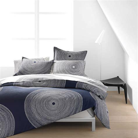 navy bedding marimekko fokus white navy percale bedding marimekko bedding