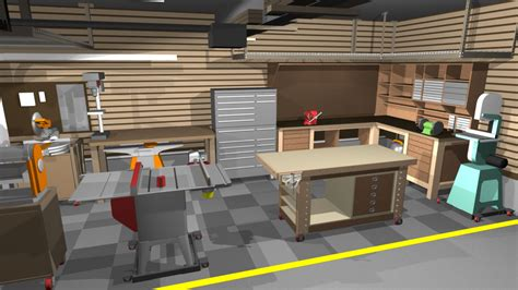 garage woodworking shop ideas garage shop corner l shape workbench design woodworking