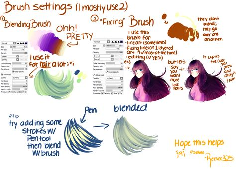 paint tool sai brush setting brush settings paint tool sai by shintaree on deviantart