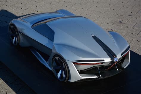 Sports Car Concept by Stunning Volkswagen Sports Car Concept Wants Us To Look