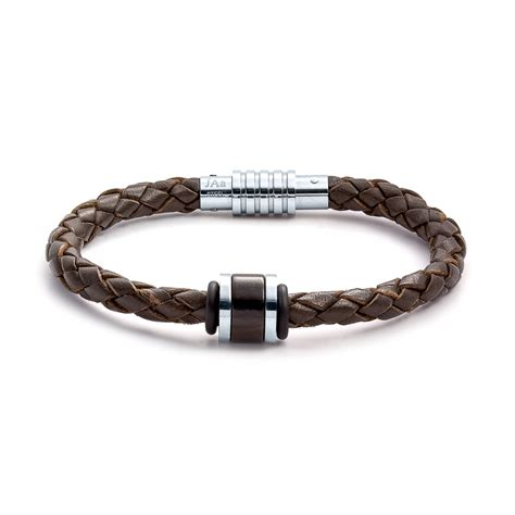 jewelry bracelets aagaard mens jewelry leather bracelet no 1233 landing