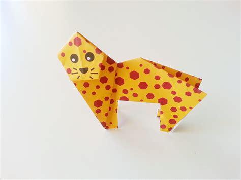 origami cheetah origami code musings