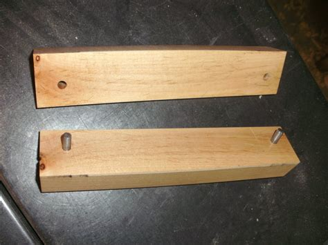woodworking scrapers sharpening jig for card scrapers by woodoogolem