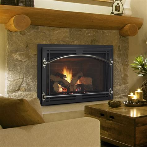 quadra gas fireplace quadra qfi35fbc gas fireplace insert nw
