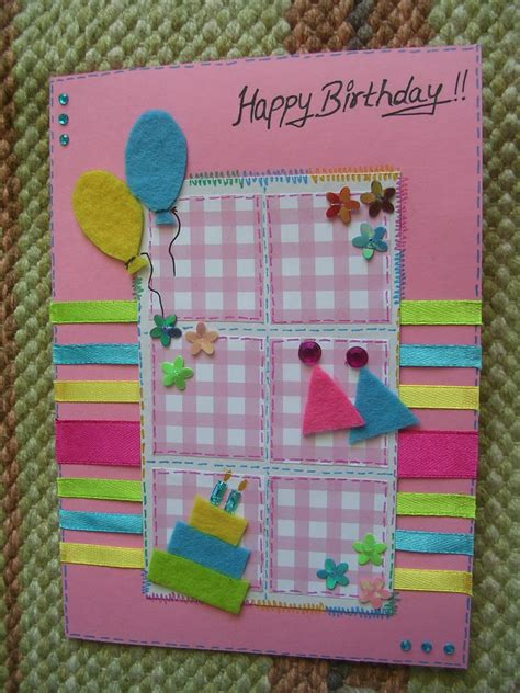 make your own happy birthday card 10 pretty and bright birthday cards that you can make