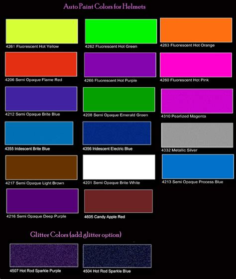 paint colors for your car metallic car paint color chart hd cars wallpapers