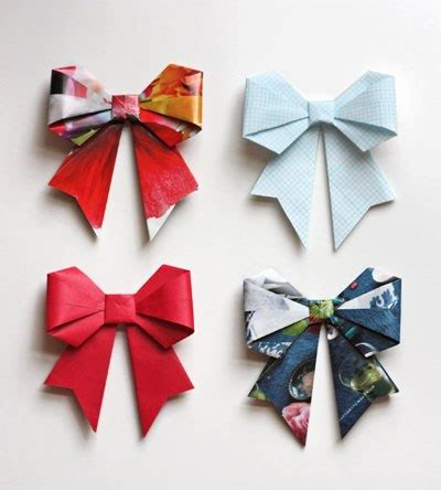 diy origami cool creativity how to diy origami paper gift bow