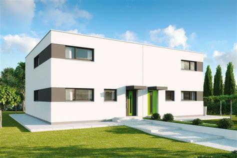 Tiny Häuser München by Fertighaus Doppelhaus Mit Zwei Wohnungen Gussek Haus