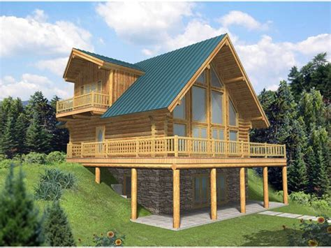 amazing house plans with walkout basements 6 a frame house plans with walkout basement