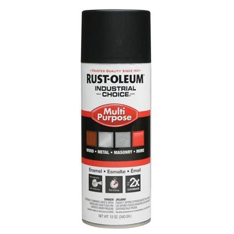 spray paint black shop rust oleum 12 oz semi flat black flat spray paint at