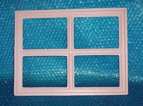 Garage Door Plastic Window Inserts Garage Door Window Insert Quot Stockton Quot 12 1 2 Quot X 16 1 2 Quot Set Of 8 Stk 2036