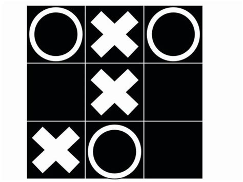 noughts and crosses template