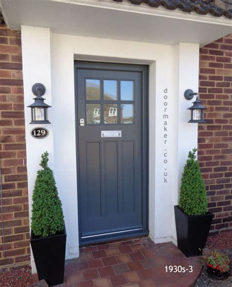 style front door 1930s style front doors