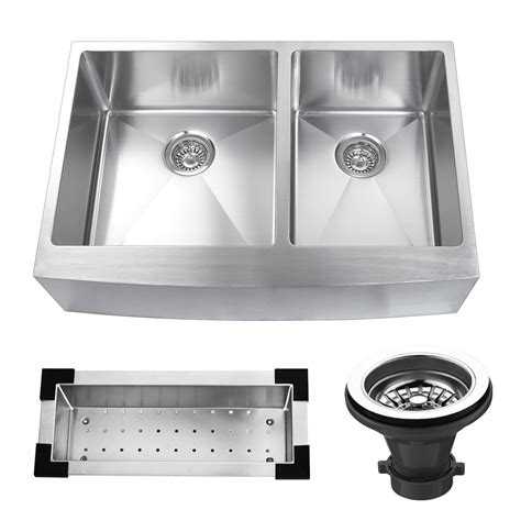 stainless steel kitchen sinks 33 x 22 kbc 33 quot x 22 25 quot stainless steel bowl farmhouse