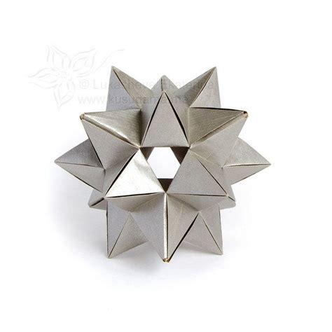 modular origami boxes 66 best kusudamas images on modular origami