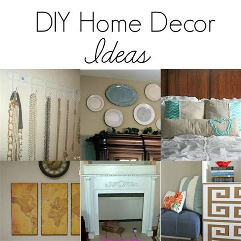 diy home decor project ideas diy home decor ideas the grant