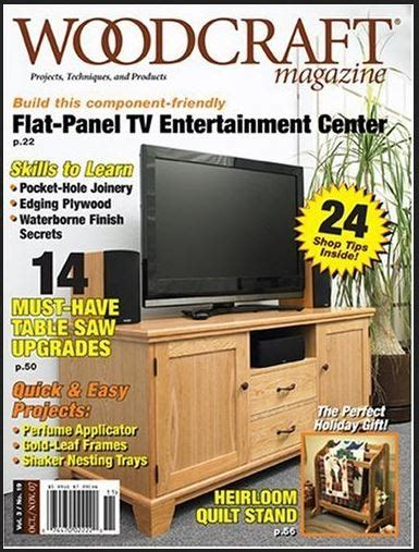free woodworking magazine subscriptions woodwork woodcraft magazine subscription pdf plans