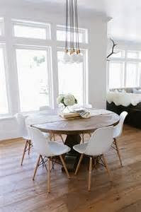 kitchen dining room table and chairs wood chandelier design decor photos pictures