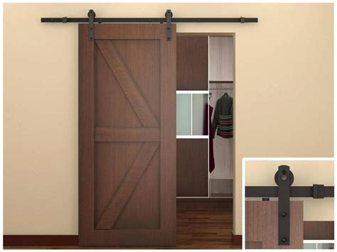 sliding door barn style interior barn doors