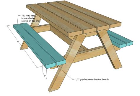 woodworking plans picnic table plans to build wood picnic table woodworking plans