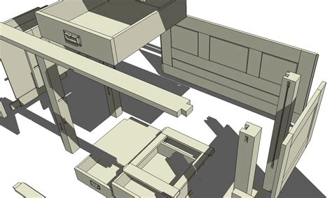 woodworking plan drawing software sketchup 3d modeling for woodworkers
