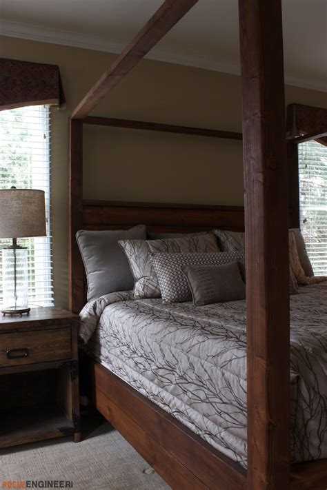 diy canopy beds canopy bed king size 187 rogue engineer