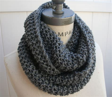 infinity knit scarf best selling items chain scarf grey knit infinity scarf