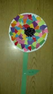 flower and craft for preschool craft flower paper plate construction