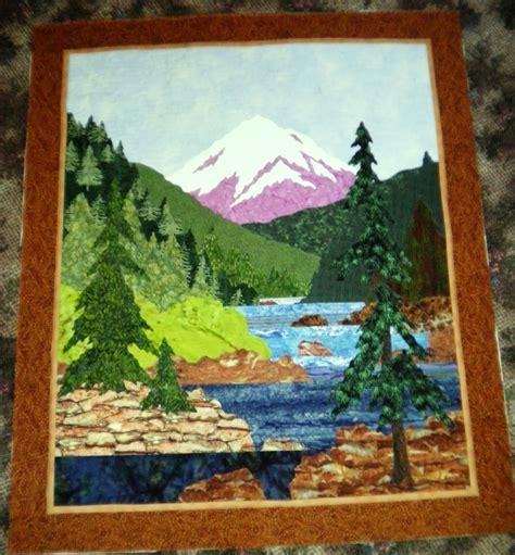 landscape quilt patterns landscape quilt